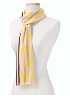 Abstract Pear Scarf