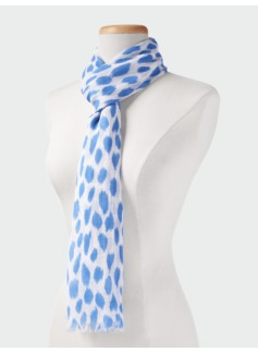 Animal Ikat Scarf