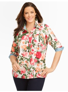 Romantic-Rose Shirt