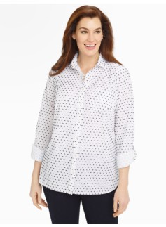Clipped-Dot Shirt