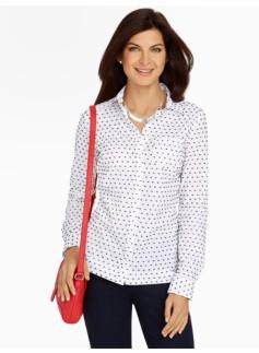 Clipped-Dot Shirt