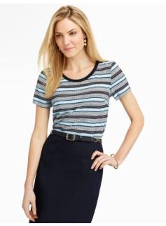 Dots & Stripes Tee-Shirt blouse