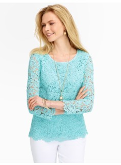 Rose Lace Blouse