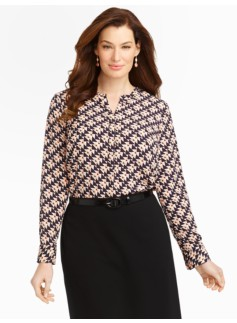 Geo-Triangle Blouse
