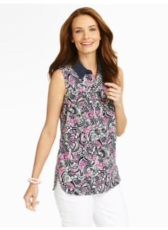 Paisley & Dot Shirt