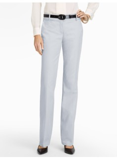 Signature Cotton Viscose Bootcut Pants