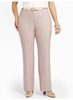 Heritage Pinstripe Bootcut Pants