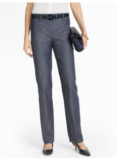 Signature Bridget Straight-Leg Pants