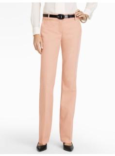 Signature Cotton Viscose Bootcut Pants - Lined