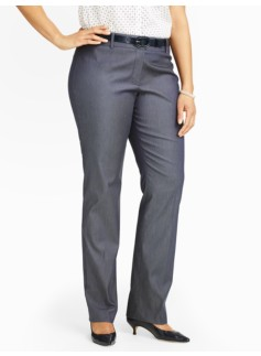 Heritage Bridget Straight-Leg Pants