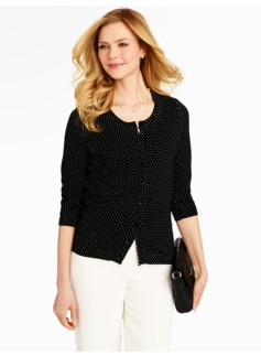 Fun-Dots Charming Cardigan