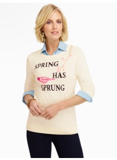 Spring-Has-Sprung Sweater