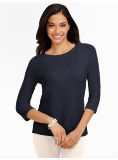 Basket-weave Sweater