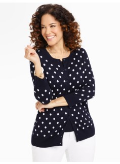 Polka-Dots Charming Cardigan