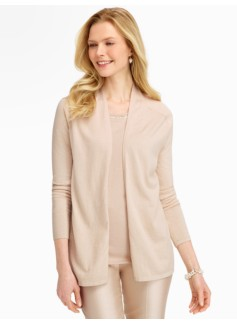 Refined No-Close Cardigan