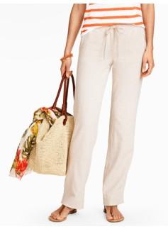 Linen Cross-Dyed Pants