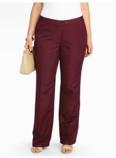 Heritage Linen-Blend Wide-Leg Pants