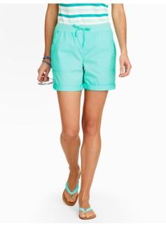 """5"""" Shoreline Poplin Shorts"""