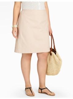 Canvas A-Line Skirt