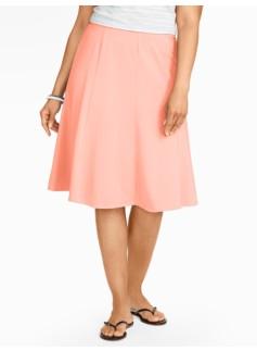 Casual Jersey Knit Skirt