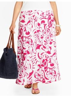 Paradise Floral Maxi Skirt
