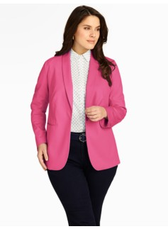 Cotton Piqu� Jacket