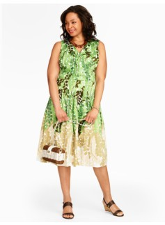 Trailing-Vines Dress