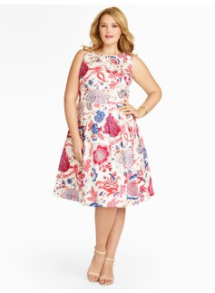 Trailing Vines & Flowers Full Dress