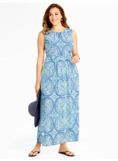 Paisley Maxi-Dress