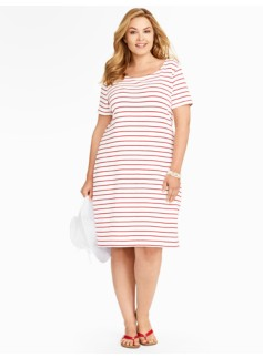 Beach Stripe T-Dress