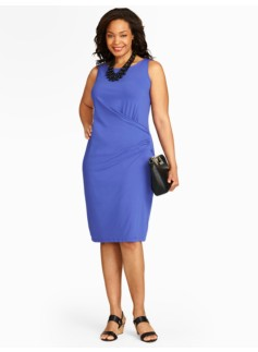 Classic Jersey Ruched Dress