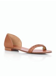 Lulu Braided-Strap Sandals