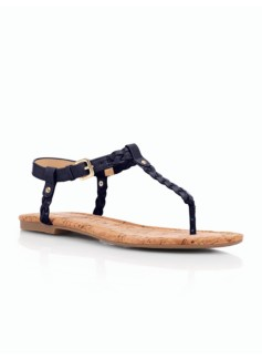 Cricket Braided Thong Sandals