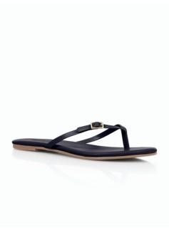 MacKenzie Buckle-Strap Flip-Flops