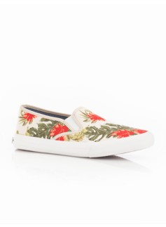 Liv Bandana Floral Slip-On Sneakers