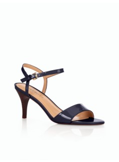 Luana Patent Leather Heeled Sandals