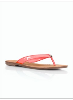 Mari Patent-Finished Flip Flops