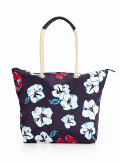 Nylon Packable Rope Handle Tote