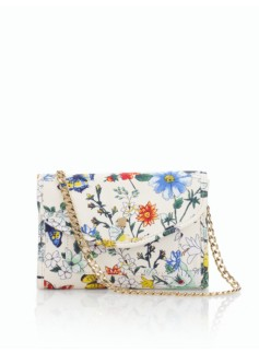 Botanical Floral Shoulder Bag