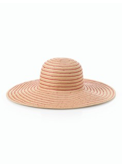 Stripe Straw Sun Hat