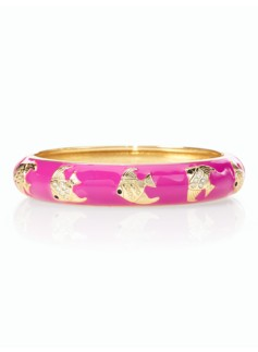 Angelfish Enamel Bangle