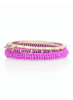 Seedbead-Wrapped Bangles