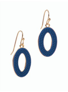 Caviar Loop Earrings