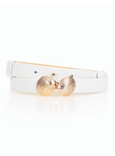 Seashell-Buckle Belt