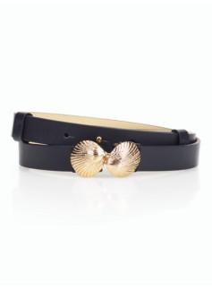 Seashell-Buckle Belt