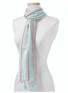 Summer Stripes Scarf