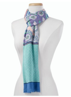Floral Paisley Scarf