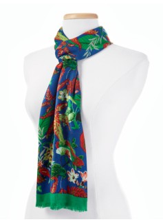 Colorful Tropical Scarf
