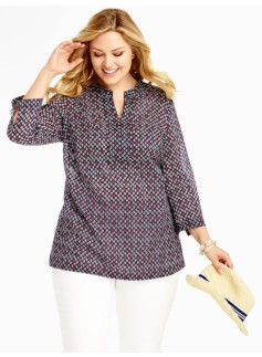 Flower Diamond Tunic