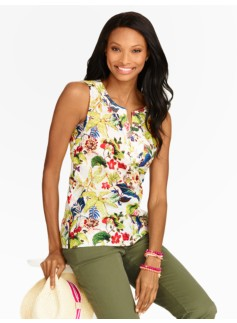 Tropical Bouquet Top
